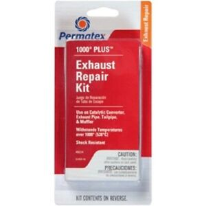 Permatex Plus Exhaust Repair Kit Incl Oil Packed Bandage Support Wire 80334