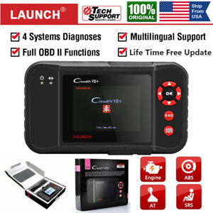 Launch Creader Vii Diagnostic Scan Tool Auto Car Obdii Obd2 Code Reader As Viii