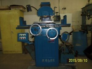 K o Lee 8 X 18 Hydraulic Surface Grinder