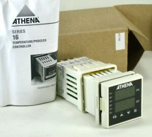 Athena Temperature Controller 16 rc f t 00 00 Type R Thermocouple 0 To 1750 c