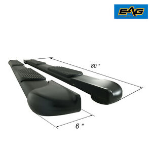 Eag Fit For 03 09 Ram 1500 2500 3500 Quad Cab 80 Running Board W brackets
