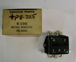 Vbs 6201a Autolite 12v Regulator For 1961 62 Willy S