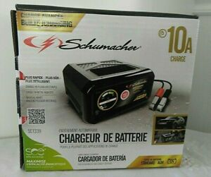 Schumacher Sc1339 Automatic Battery Charger 12 Volts 10 Amps New In Sealed Box