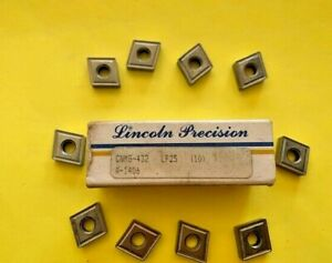 Cnmg 432 Lp25 Lincoln Precision 10 Inserts