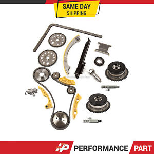 Timing Chain Kit Vct Selenoid Actuator Gear For Gm Ecotec 2 0l 2 4l