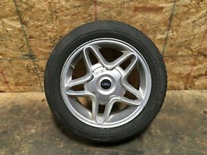 2009 Mini Cooper S Clubman Wheel Rim 5 Spoke Tire Bridgestone 195 55r16 Oem