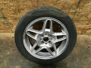2009 Mini Cooper S Clubman 5 Spoke Rim Wheel Tire Bridgestone 195 55r16 Oem
