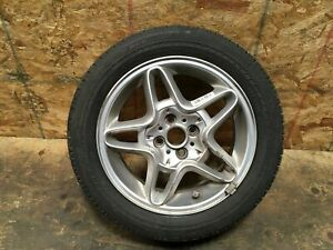 2009 Mini Cooper S Clubman Rim Wheel 5 Spoke Tire Bridgestone 195 55r16 Oem