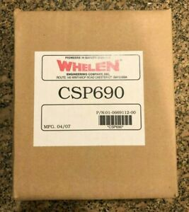 Whelen Csp690 Strobe 90 Watt Power Supply Nib New In Sealed Box Police Fire Etc