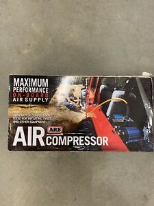 Arb Twin Motor On Board 12v Air Compressor Universal Ckmta12 New Never Used