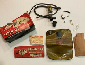 Nos 1955 1959 Chevy Gmc Truck Trico Lever Jet Windshield Washer Kit Awl 10 Oem