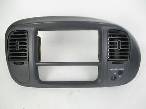 Ford F150 Expedition Center Dash Airbag Radio A c Climate Vent Bezel Gray 97 03