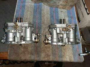 Set Of 2x 40 Drla Dellorto Twin Carb Vw Bug Beetle Porsche 356 912 Original