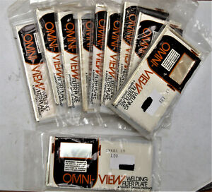 10 Unused Omni view Welding Helmet Filter Plates Shade 13 Usa