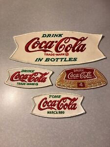 Coca Cola Patches Fishtail Group Of Four
