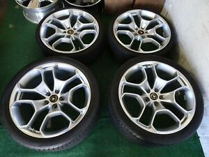 Set Of Lamborghini Huracan Oem Factory 20 Wheels Rims Sensors Tires Pirelli