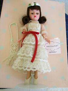 Madame Alexander 28280 ~1920's Coca Cola Doll w/Stand~Box~Divided Backdrop