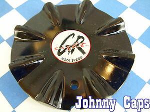 Greight Rota Speed Wheels Black Custom Wheel Center Caps Rim Center Cap 1