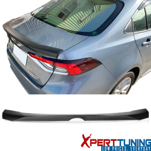 Fits 20 Toyota Corolla 12th Altis Sedan 4dr Abs Trunk Spoiler Wing