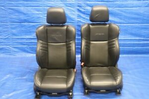 2016 Dodge Charger Scat Pack R t 392 Oem Leather Lh Rh Front Seats wear 1211