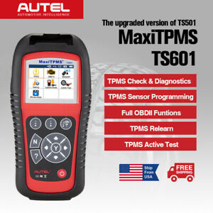 Autel Ts601 Tire Pressure Monitor System Programming Tpms Diagnostic Scan Tool