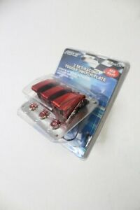 Pilot Automotive Pl sw53r Performance Row Red Anodized Safety Cover Toggle