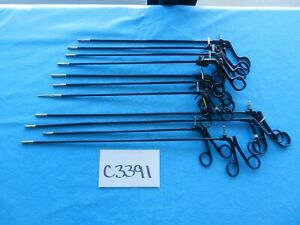 Jarit Stryker Surgical Laparoscopic 5mm Instruments Lot Of 11