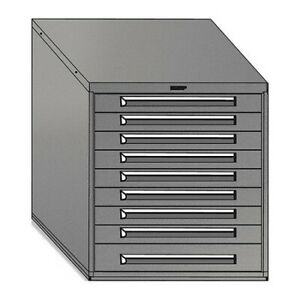 Equipto 4430 bl Mod Drawer Cabinet W o Dividers 30 bl