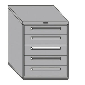 Equipto 443038 005mt wh Mod Drawer Cabinet W o Dividers 30 wh
