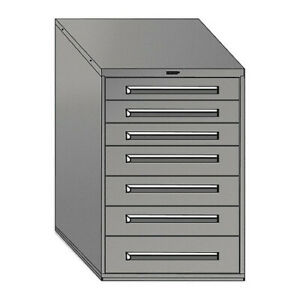 Equipto 4416 py Mod Drawer Cabinet W o Dividers 30 py