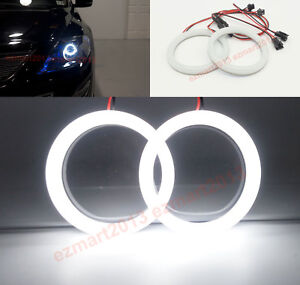 Cotton White Led Angel Eyes For Mazda Cx 9 Cx9 07 2012 Headlight Halo Ring Drl