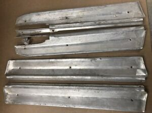 1965 Plymouth Fury 4 Door Sill Plate Panel Trim Set