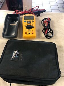 Ideal 61 797 Insulation Meter Excellent Cond Tested