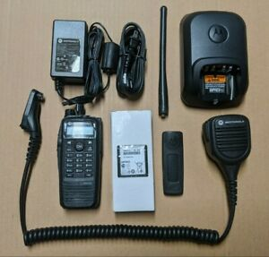 Motorola Xpr6550 Vhf 136 174 Mhz Portable Radio W accessories Xpr 6550 Trunking