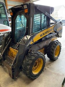 2006 New Holland L170 Enclosed Cab Heat High Flow Skid Steer Loader