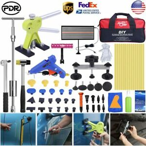 Pdr Tools Car Body Dent Repair Hail Removal Dent Puller Lifter Slide Hammer Kits