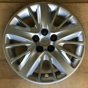 2014 2018 Chevy Impala Wheel Hubcap Rim Cover 18 Factory Oem 20955586 Silver