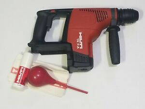 Hilti Te 7 a Cordless Rotary Hammer Drill Tool Only open Box