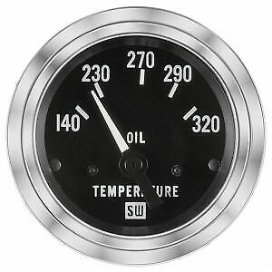 Stewart Warner 82308 Deluxe Electrical Oil Temp Gauge