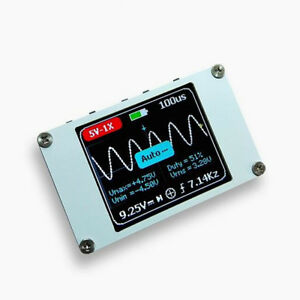 Dso Mini Portable Digital Oscilloscope 1m Bandwidth 5msps 1 4 Inch Lcd Display