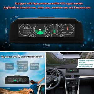 Go2 Universal Car Electronics Gps Speedometer Hud Display Gps Speed Projector