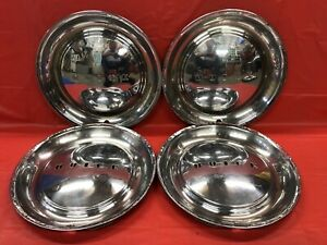 Vintage Set Of 4 1949 50 Buick 15 Hubcaps Roadmaster Super Special