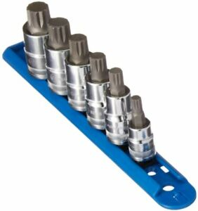 Gearwrench 6 Pc 3 8 And 1 2 Drive Metric Triple Square Stubby Bit Socket Set