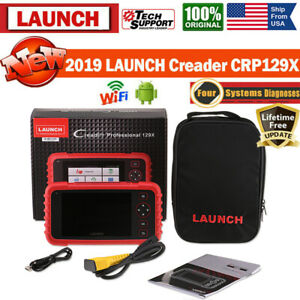 Launch Crp129 Crp129x Obd2 Diagnostic Auto Scan Tool Abs Srs Epb Sas Oil Reset