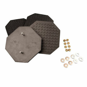 Octagonal Rubber Arm Pad Kit Set Of 4 For Challenger Lifts 11052 31057