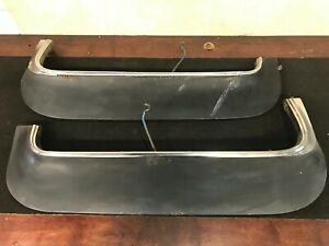 1969 Cadillac Deville Left And Right Fender Skirts