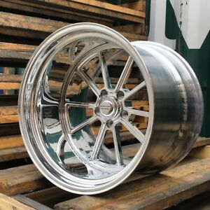 15x12 American Racing Forged Vf 510 Polished Wheel Chevy Ford Dodge Mopar Gm
