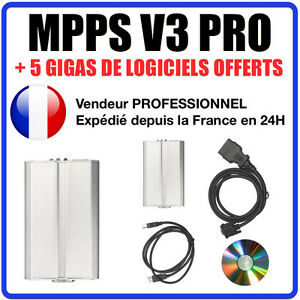 Cable Interface Mpps Professional Software Mpps V16 Reprog Renault Peugeot