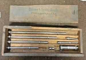 Brown Sharpe 266 Inside Micrometer 2 8 001 Machinist Tool Maker Box Find