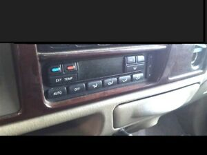 02 03 04 05 2002 2003 2004 2005 Ford Excursion Ac Heat Climate Control